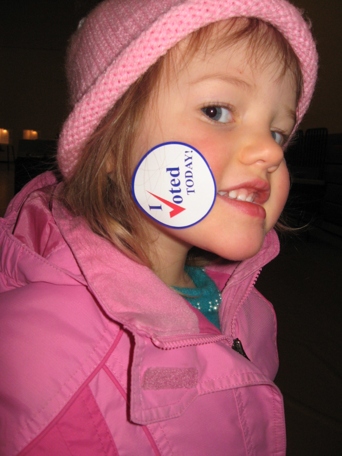 Lily Votedsticker Matt Scease